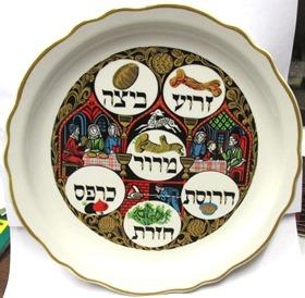 Historic Scenes Ceramic Passover Seder Plate 10  diameter  sc 1 st  Israel Book Shop & Historic Scenes Ceramic Passover Seder Plate 10